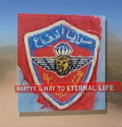 Hezbollah uniform patch Found on Arizona Desert by Rancher following illegal Entry Through Mexico